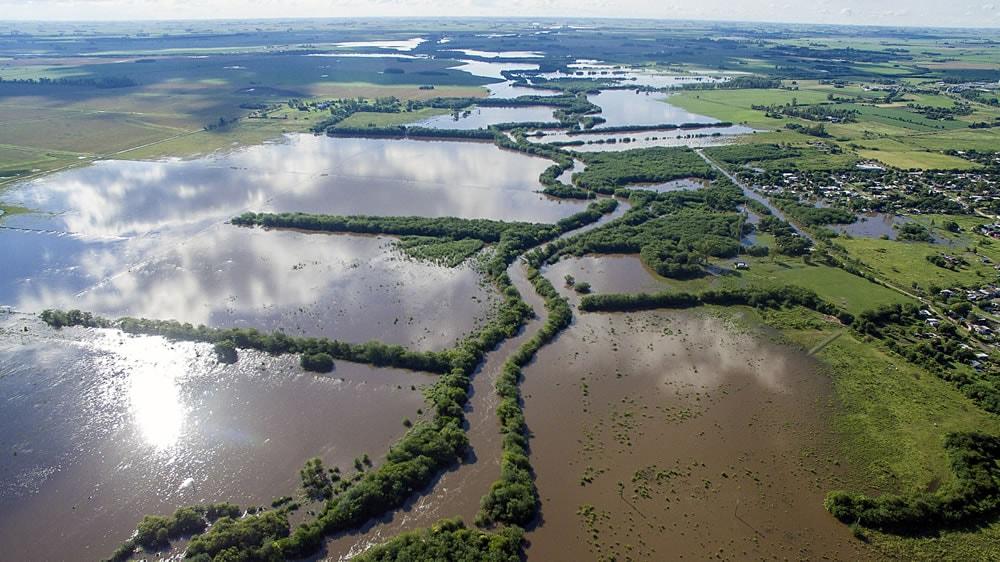 Inundaciones en pergamino, Buenos Aires