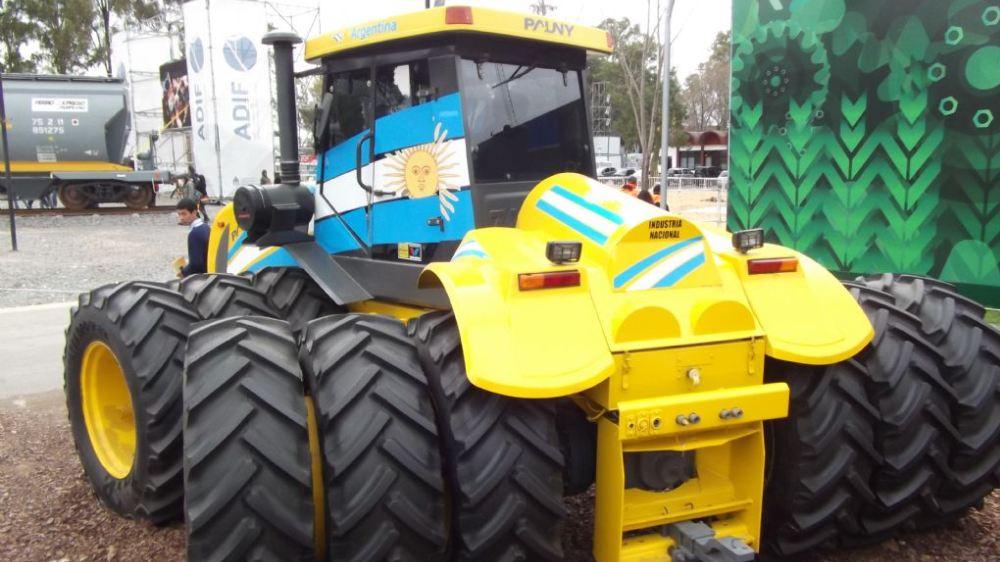 Foto de un Tractor