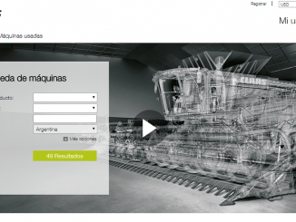 Catálogo online first Claas used