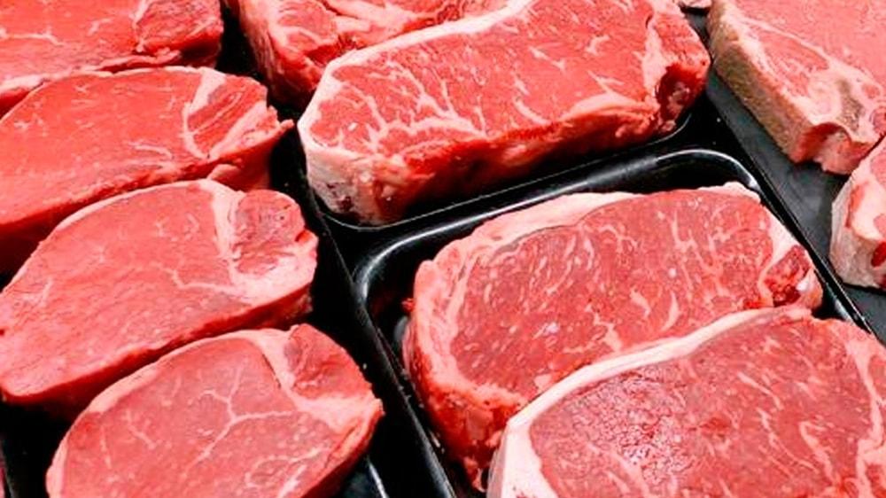 Cortes de carne para exportación