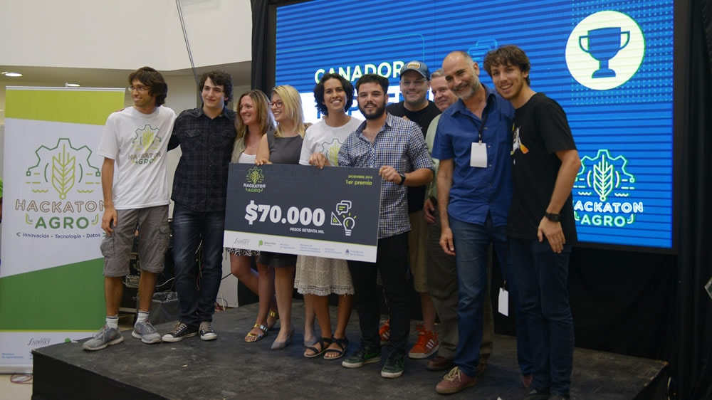 Ganadores del hackaton Agro 2017