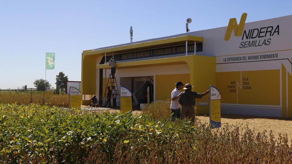 Nidera semillas, en Expoagro