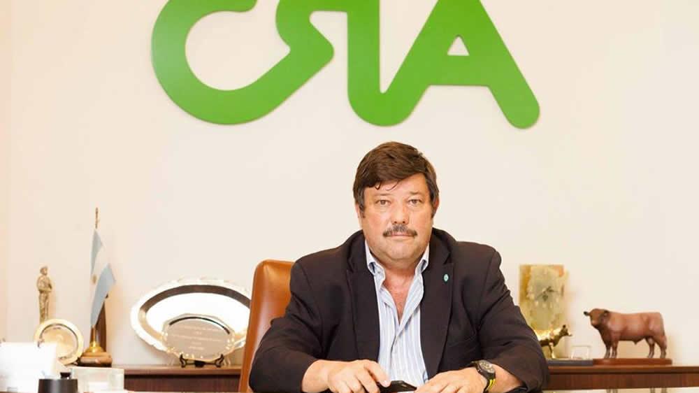 Dardo Chiesa, presidente de Las confederaciones rurales argentinas