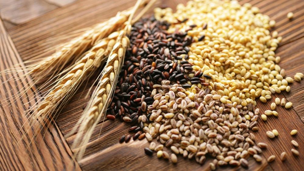 foto de granos con variedad