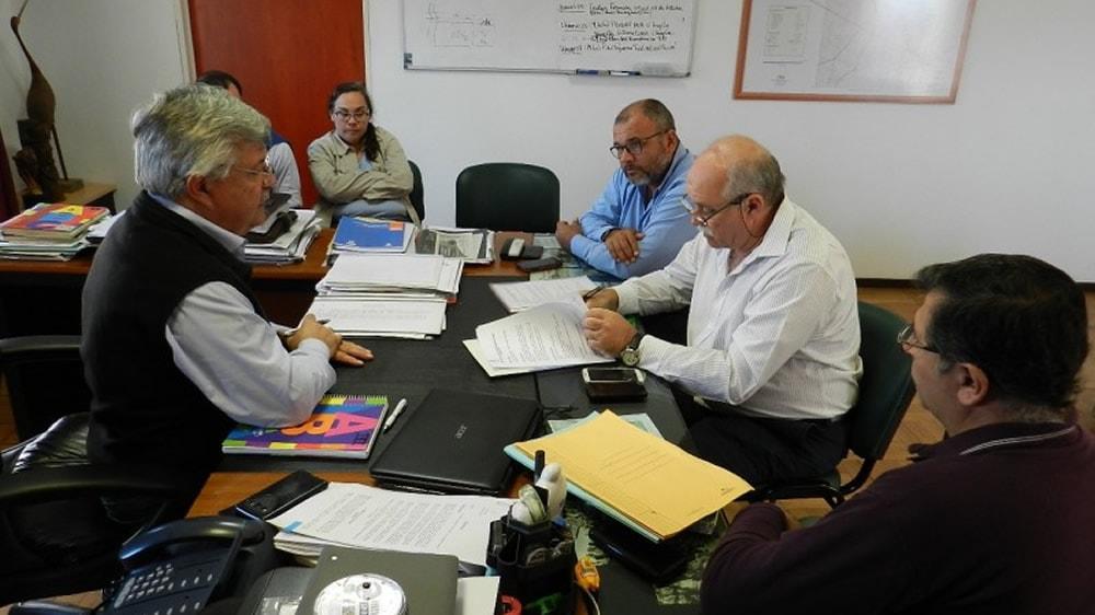 Reunión del SENASA y el Ministerio de la producción del Chaco
