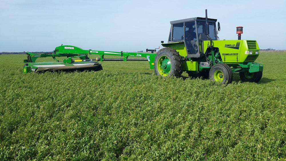 Cosecha de alfalfa