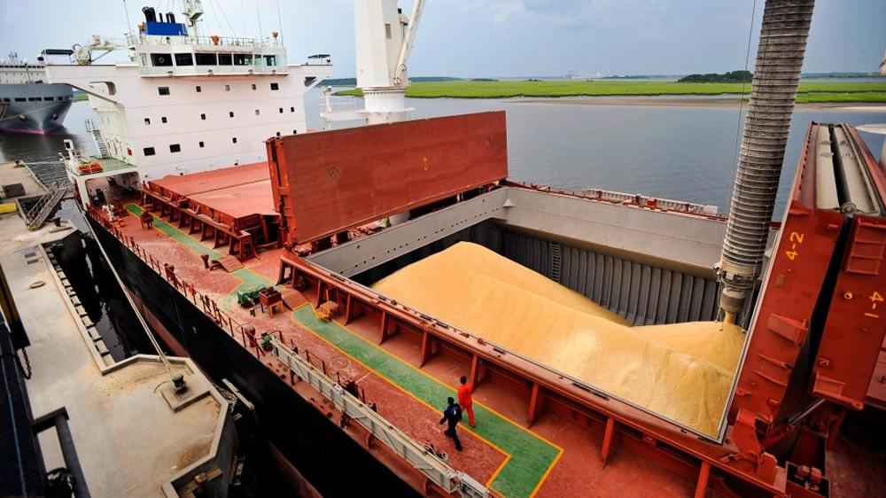 Exportación de granos