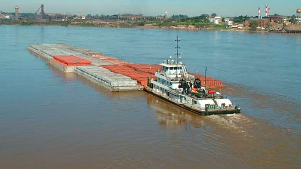 Barco exportador de granos