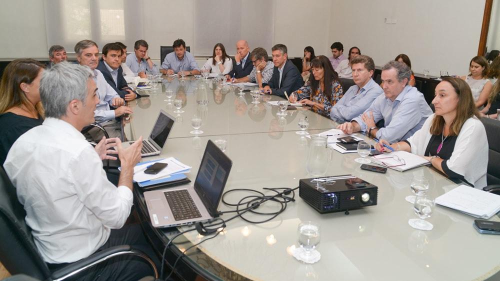 El Gabinete del Ministerio de Agroindustria de la Nación, representantes del INTA y del Senasa avanzaron en la agenda de temas que se llevará adelante en el marco del G20