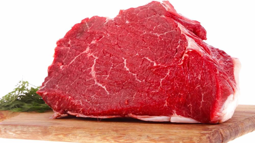 Corte de carne bovina