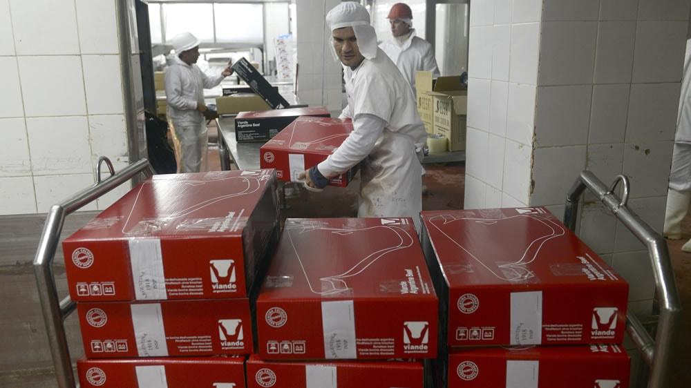 Exportación de carne bovina argentina