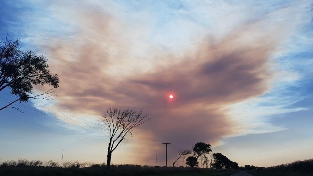 Incendio en Luan Toro, La Pampa