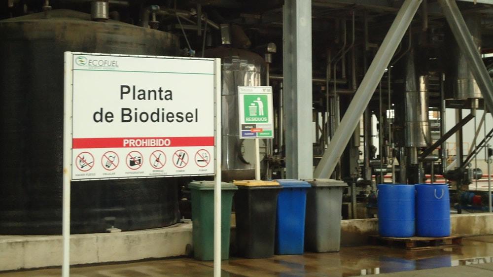 Planta argentina de biodiesel