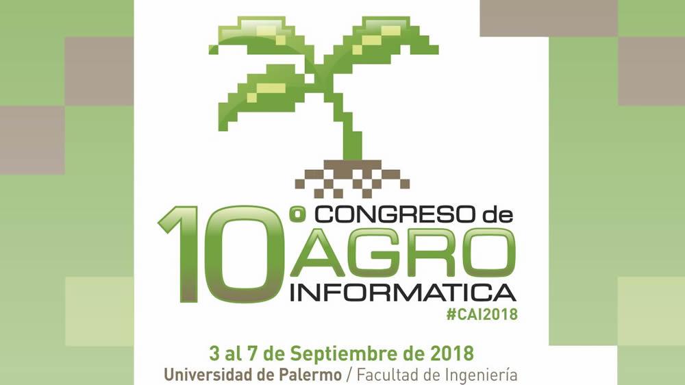 10º Congreso de AgroInformática 2018