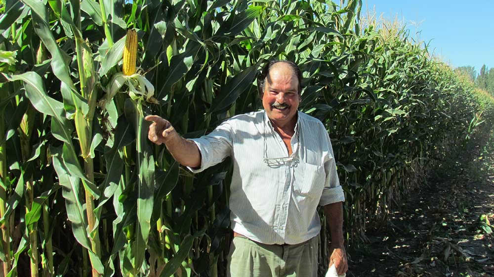 Productor agropecuario Hugo Sarasa