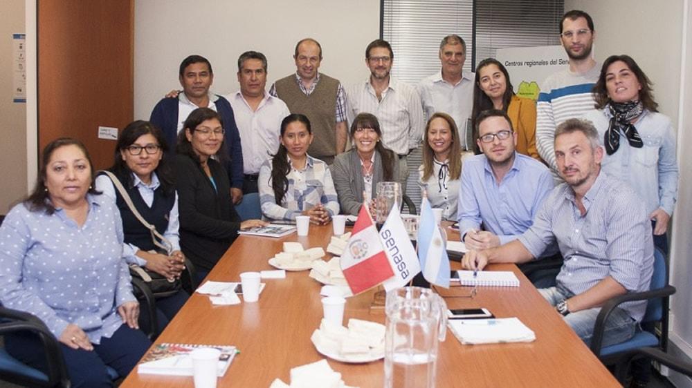 Delegación peruana visitó establecimientos productores de carnes