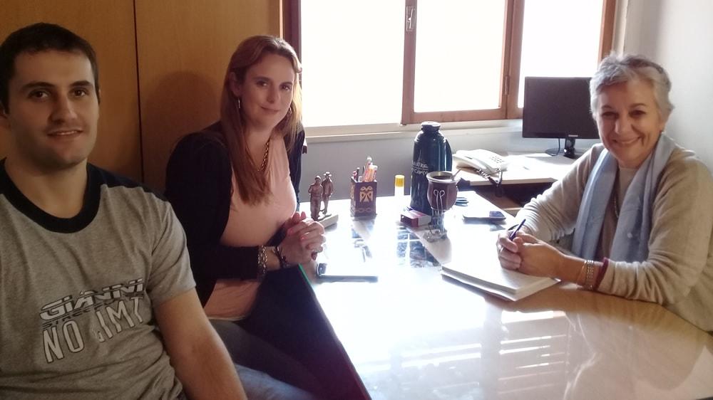 Nora Traverso en reunión del RENATRE La Pampa