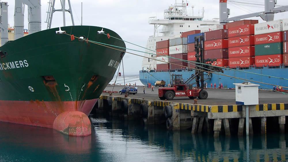 Puerto exportaciones