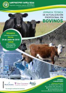 Jornada Técnica de actualización profesional en Bovinos @ Laboratorio Santa Rosa