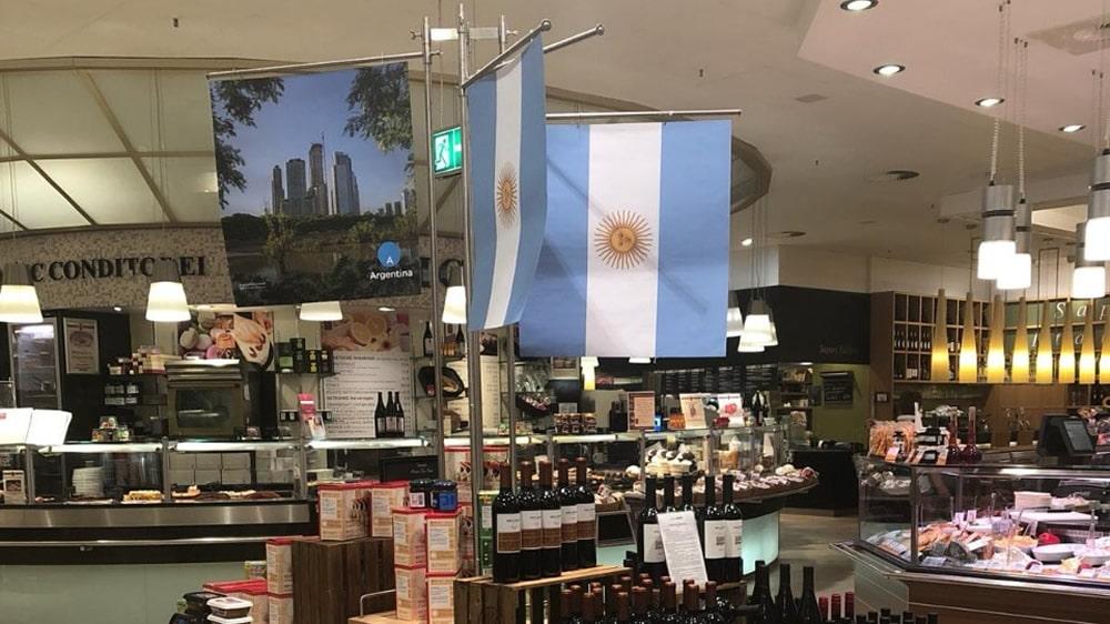 Alimentos argentinos en Alemania