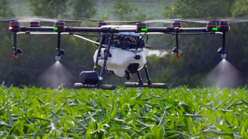 Drone pulverizador