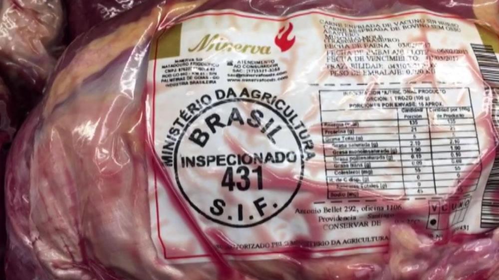 El análisis del impacto de los casos de vaca loca en Brasil, en los medios