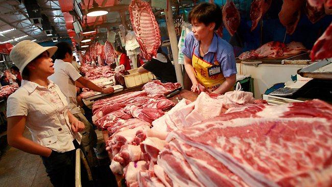 China importó 1,02 millones de t de carne de cerdo durante el mes de marzo
