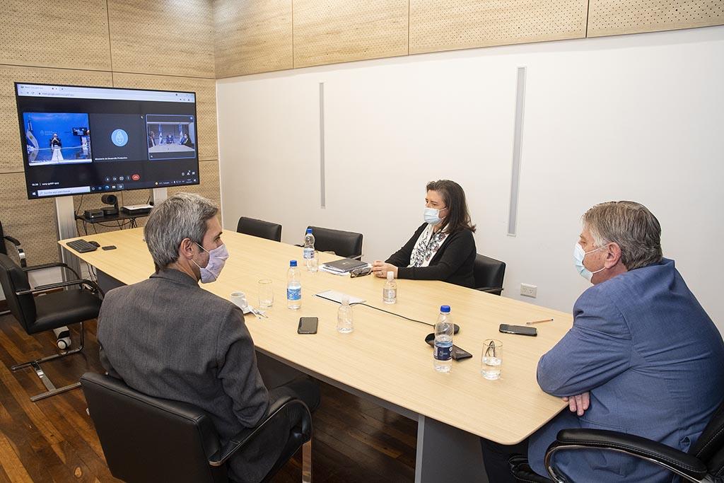 Ziliotto y Kulfas analizaron estrategias para fortalecer el desarrollo productivo